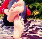 Meine göttlichen Füße/Fußsohlen