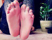 Göttliche Füße zum Anbeten!