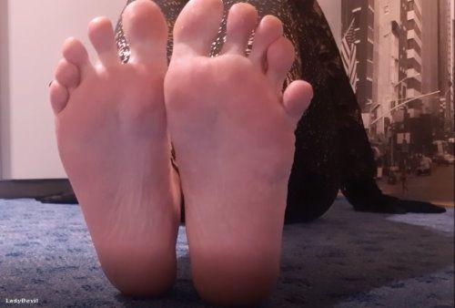 Fußanbetung